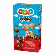 galletas rellenas crema chocolate ozmo hoppo 40 g
