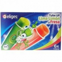 Helados Tube-up ifa lima-limon y fresa 6 x 115ml